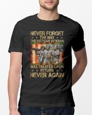 Never Again Classic T-Shirt lifestyle-mens-crewneck-front-13