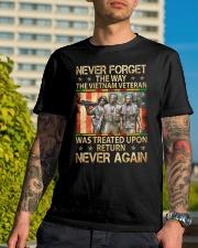 Never Again Classic T-Shirt lifestyle-mens-crewneck-front-8
