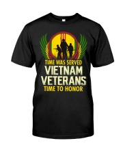 Time To Honor Classic T-Shirt front