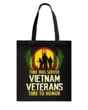 Time To Honor Tote Bag thumbnail