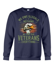 We Owe Our Veterans Crewneck Sweatshirt thumbnail
