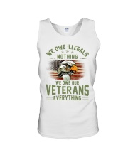 We Owe Our Veterans Unisex Tank thumbnail