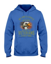 We Owe Our Veterans Hooded Sweatshirt thumbnail