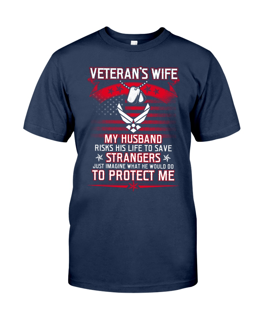 Veteran's Wife AF Classic T-Shirt showcase