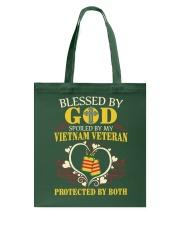 Protected By Both Tote Bag thumbnail