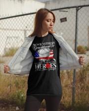 Call Mine Grandpa-WWII Sailor Vet Granddaughter  Classic T-Shirt apparel-classic-tshirt-lifestyle-07