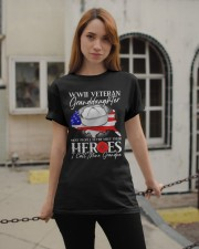 Call Mine Grandpa-WWII Sailor Vet Granddaughter  Classic T-Shirt apparel-classic-tshirt-lifestyle-19