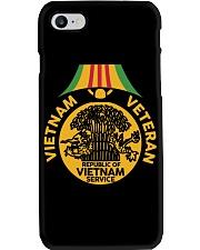 Vietnam Veteran-Vietnam Service Medal Phone Case thumbnail