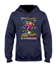 Vietnam Veteran's Daughter Privilege Hooded Sweatshirt thumbnail