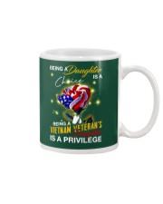 Vietnam Veteran's Daughter Privilege Mug thumbnail
