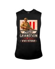 Proud WWII Veteran's Grandson Sleeveless Tee thumbnail