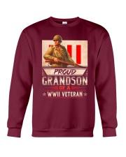 Proud WWII Veteran's Grandson Crewneck Sweatshirt thumbnail