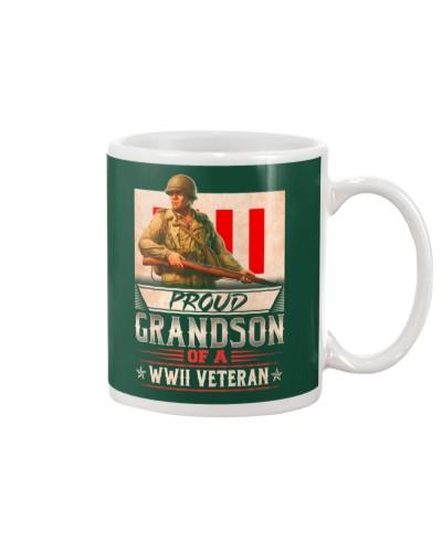 Proud WWII Veteran's Grandson