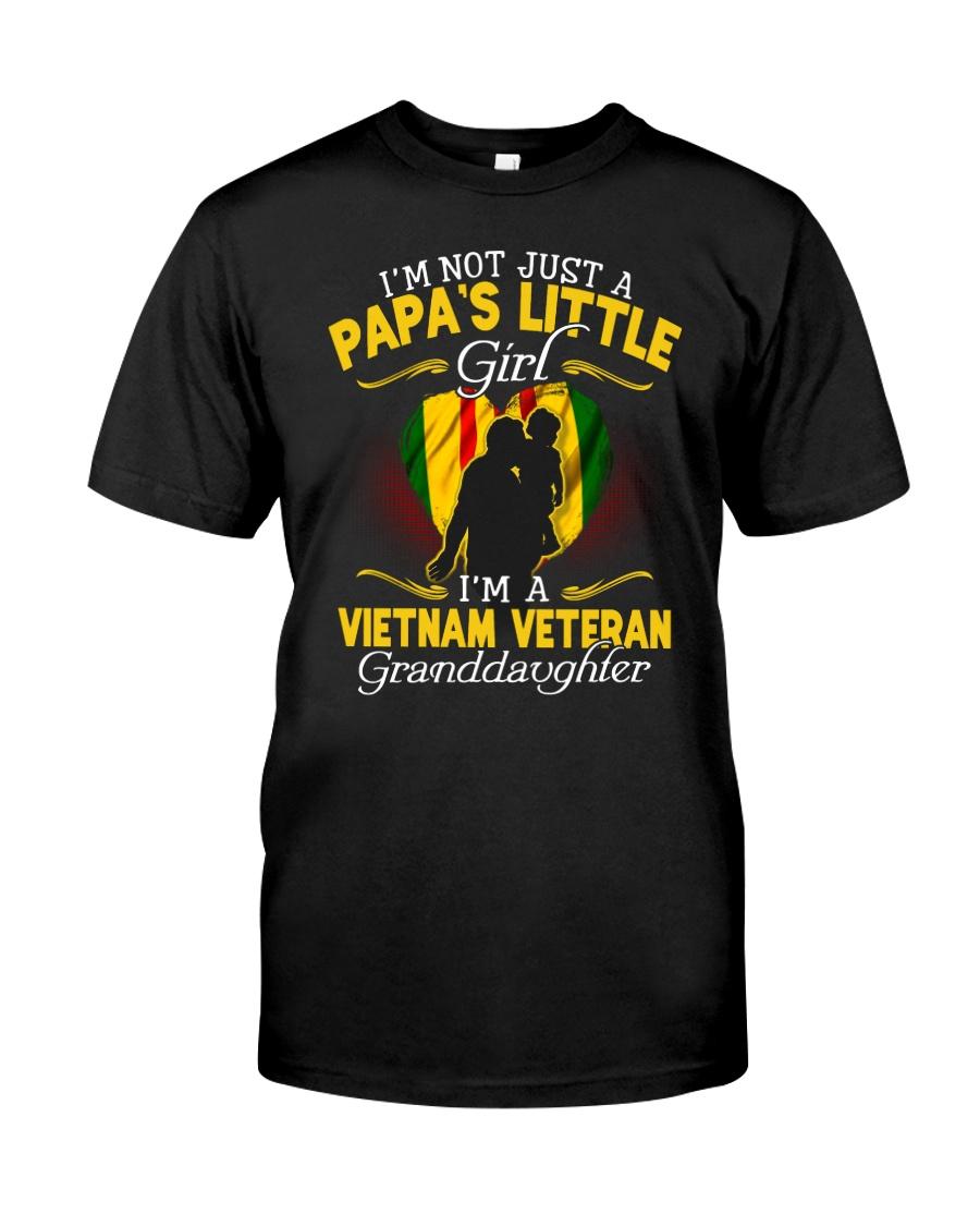 Vietnam Vet Granddaughter Classic T-Shirt