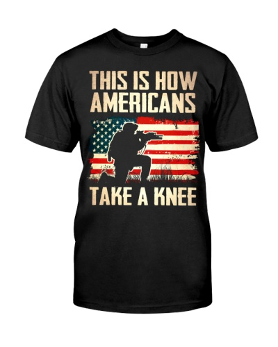 Americans Take A Knee