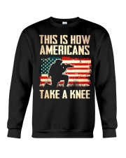 Americans Take A Knee Crewneck Sweatshirt thumbnail