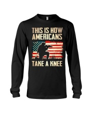 Americans Take A Knee Long Sleeve Tee thumbnail