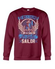 I Am A Sailor Crewneck Sweatshirt thumbnail