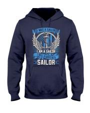 I Am A Sailor Hooded Sweatshirt thumbnail