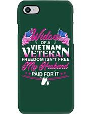 Widow Of A Vietnam Vet Phone Case thumbnail