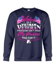 Widow Of A Vietnam Vet Crewneck Sweatshirt thumbnail
