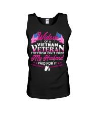 Widow Of A Vietnam Vet Unisex Tank thumbnail