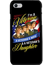 Female Veteran Phone Case tile