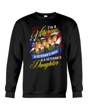 Female Veteran Crewneck Sweatshirt thumbnail
