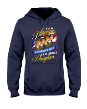 Female Veteran Hooded Sweatshirt front