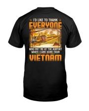 Airport Classic T-Shirt back