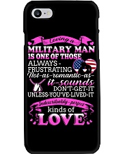Loving A Military Man Phone Case thumbnail