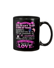 Loving A Military Man Mug thumbnail