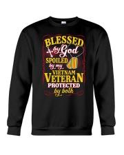 Protected By Both Crewneck Sweatshirt thumbnail