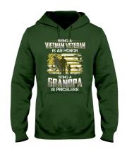 Being A Vietnam Veteran Grandpa Is Priceless Hooded Sweatshirt thumbnail