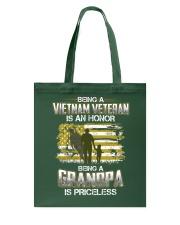 Being A Vietnam Veteran Grandpa Is Priceless Tote Bag thumbnail