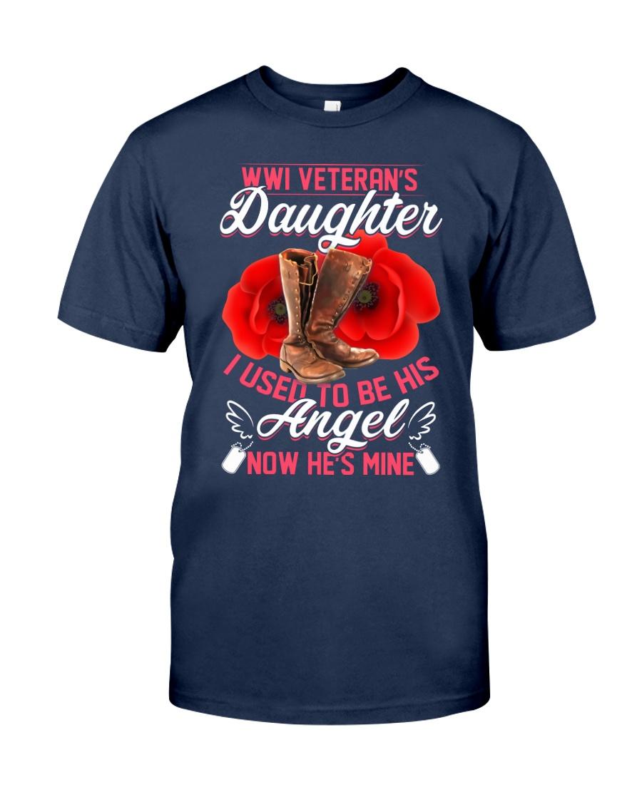 WWI Veteran's Daughter Angel Classic T-Shirt