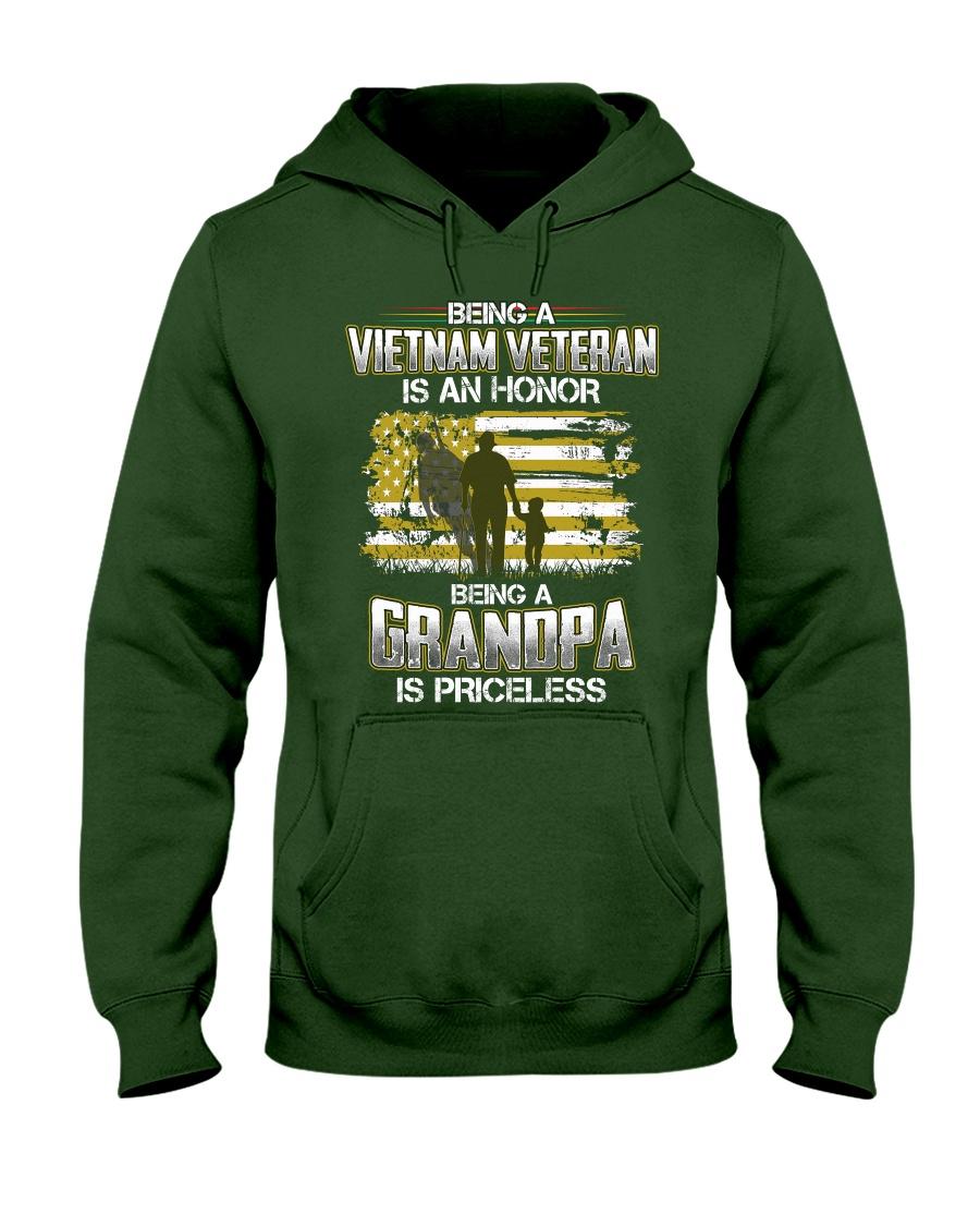 Being A Vietnam Veteran Grandpa Is Priceless Hooded Sweatshirt