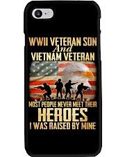 WWII Veteran Son And Vietnam Veteran Phone Case thumbnail