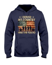Served My Country Hooded Sweatshirt thumbnail