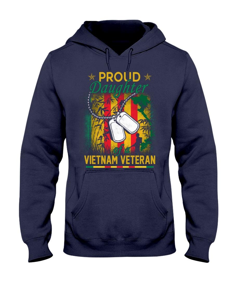 Vietnam Vet Proud Daughter Hooded Sweatshirt