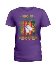 Vietnam Vet Proud Daughter Ladies T-Shirt thumbnail