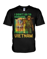 Went To Vietnam V-Neck T-Shirt thumbnail
