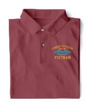 Combat Veteran Vietnam-CIB Classic Polo front