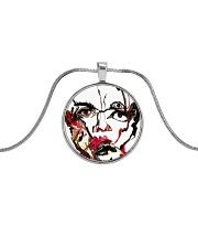 Karina Padilla Metallic Circle Necklace thumbnail