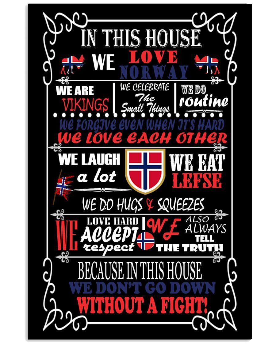 Norwegian House 11x17 Poster