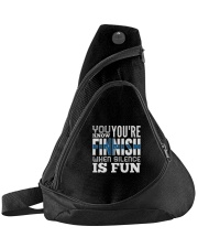 Finnish Fun Sling Pack front