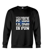 Finnish Fun Crewneck Sweatshirt thumbnail