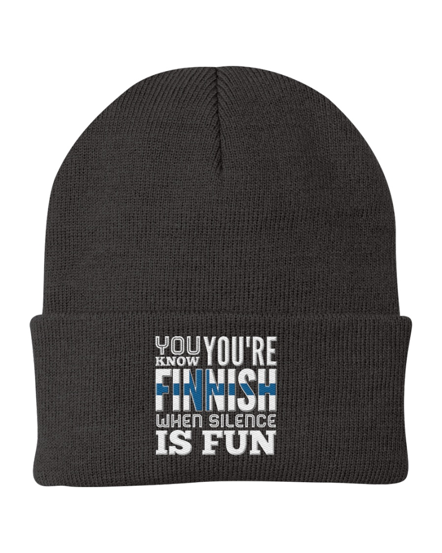 Finnish Fun Knit Beanie