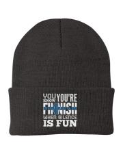 Finnish Fun Knit Beanie front