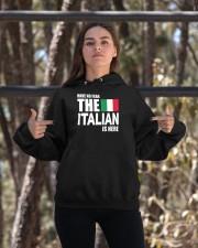 Italian Is Here Hooded Sweatshirt apparel-hooded-sweatshirt-lifestyle-05